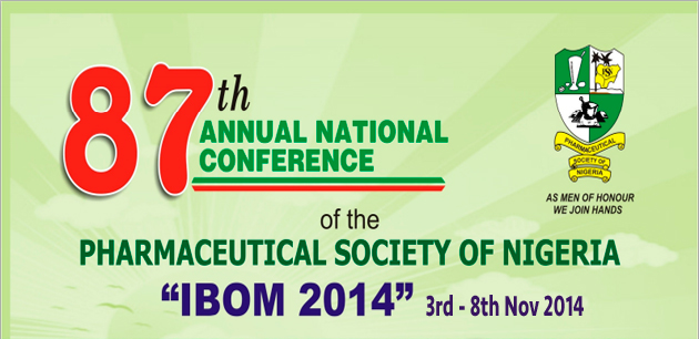 Pharmaceutical society of nigeria conference banner