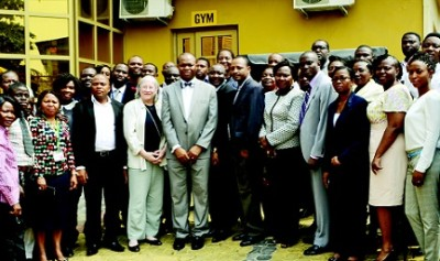A cross section of participants at the Advanced Good Manufacturing Practice (GMP) training held by USP at Banex Hotel, Anthony, Lagos recently