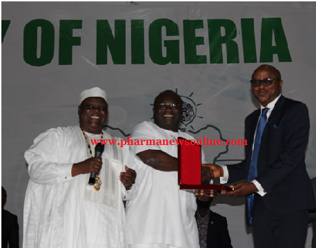 -As PSN Confers Honourary pharmacist award on SFH, Codix bosses