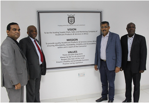 Mohammed Commends WWCVL world class facility