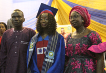Ovation, as Adelakun Emerges UI Pharmacy Faculty's Best Graduating Student