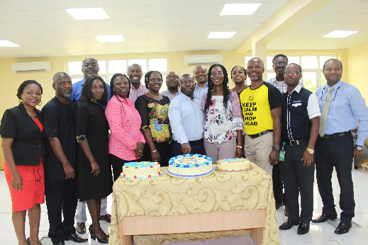 Pharmacyplus staff stage surprise birthday party for boss