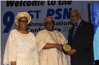 Pharmanews Boss Marks 45 Years Unbroken Attendance of PSN National Conference