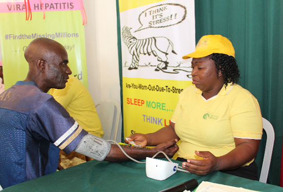 FGBMFI Conducts Free Medical Screening for Lagos Trade Fair Participants