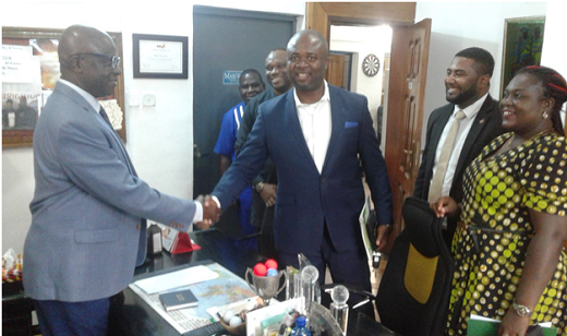 UNN Alumni pays courtesy visit to Alpha boss