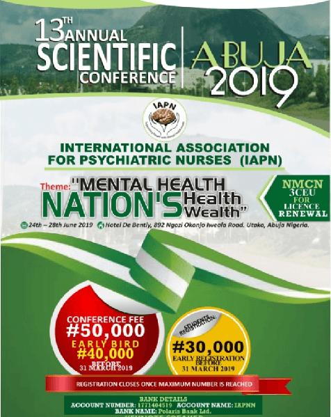 IAPN Organises 13th Annual Scientific Conference in Abuja