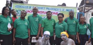 Members of Ikotun ACPN Walk Against Malaria