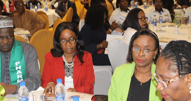 Aisha Buhari, Sanwo-Olu Task Pharmacists on Drug Abuse