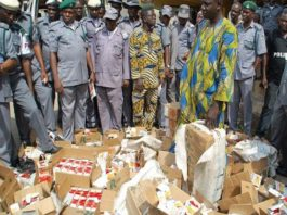 Over N14bn worth of Banned Tramadol, Others, Destroyed by Customs, NAFDAC