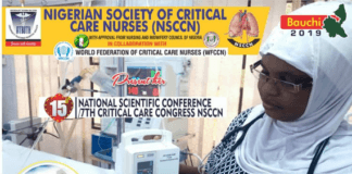 Nigerian Society of Critical Care Nurses Holds 15th National Scientific Conference