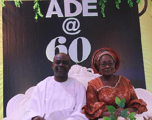 Encomiums as Reals Pharma Boss' Celebrates 60th Birthday