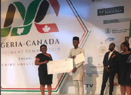 Aliyu Bello Wins $2000 Healthcare Innovation &Tech Advancement Prize