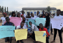Group picture of UNILORIN Pharmacy Students Advocating for Safer Sexual Practices