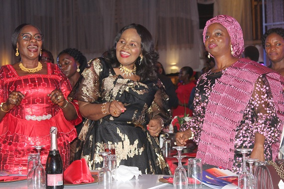 Her Excellency, Mrs. Paulen Tallen, former deputy governor, Plateau State and Minister of Women Affairs; Dr. (Mrs) Stella Okoli, founder and group managing director, Emzor Pharmaceutical Industries Limited, and Wife of the Governor of Lagos State, Her Excellency, Dr. Claudiana Ibijoke Sanwo-Olu at the event.