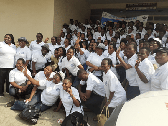 Lagos Nurses Flag off 2020 Year of the Nurse & Midwife