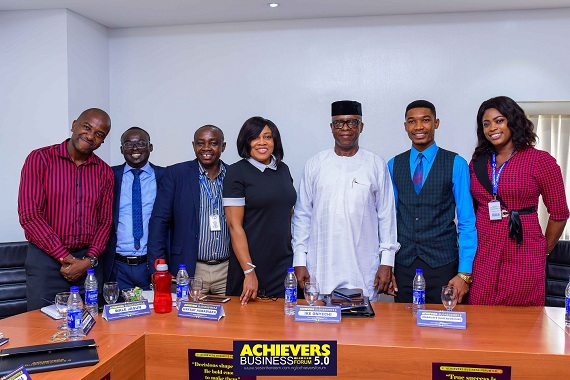 Representatives of Alpha Pharmacy at Achievers Business Forum 5.0 with their MD Sir Ike Onyechi.