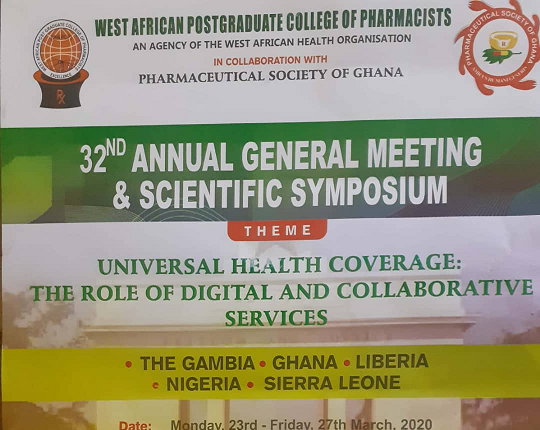WAPCP Holds 32nd AGM/Scientific Symposium in Accra
