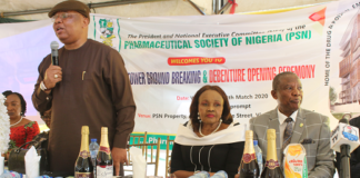 PSN Commences Fundraising for Pharmacy Tower Project